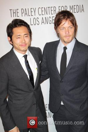 Steven Yeun, Norman Reedus and Paley Center For Media