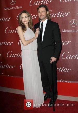 Angelina Jolie, Brad Pitt and Palm Springs Convention Center