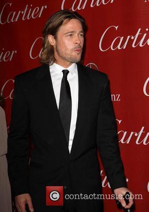 Brad Pitt and Palm Springs Convention Center
