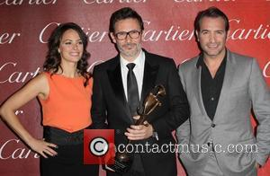 Berenice Bejo, Michel Hazanavicius and Jean Dujardin The 23rd annual Palm Springs International Film Festival Awards Gala at The Palm...