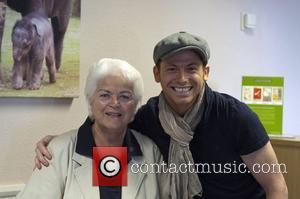 Joe Swash and Pam St. Clement Pam St. Clement launches Lookout Lodge at Whipsnade Zoo Bedfordshire, England - 04.04.12