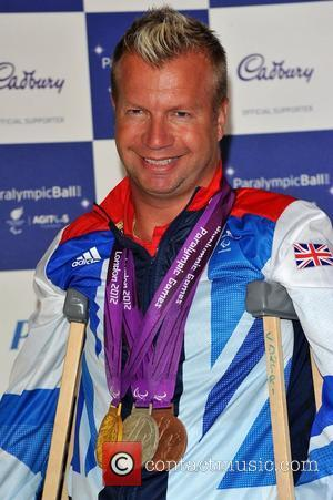 Lee Pearson The Paralympic Ball held at the Grosvenor House.  London, England - 05.09.12