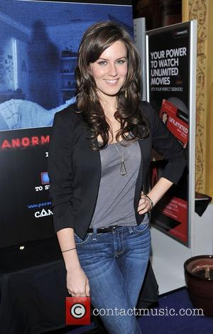 Katie Featherston 'Paranormal Activity 4 Gala Screening' held at the Cineworld Haymarket - arrivals. London, England - 16.10.12