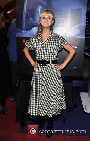 Nikki Grahame 'Paranormal Activity 4 Gala Screening' held at the Cineworld Haymarket - arrivals. London, England - 16.10.12