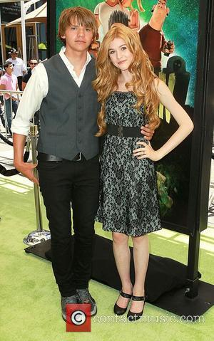 Joel Courtney, Katherine McNamara,  World Premiere of 'Paranorman' held at Universal Studios Cinemas Hollywood, California - 05.08.12