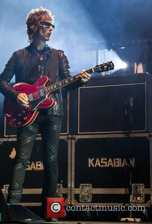 Kasabian performing live at the Festival Paredes de Coura - day 4 Paredes de Coura, Portugal - 16.08.12