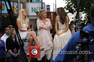 Paris Hilton, Kathy Hilton and Maria Menounos