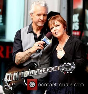 Pat Benatar and Neil Giraldo perform as part of 'Fox & Friends' All-American Summer Concert Series  New York City,...