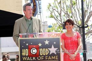 Neil Flynn, Patricia Heaton Patricia Heaton is honored with a Hollywood Walk of Fame Star on Hollywood Blvd Hollywood, California...