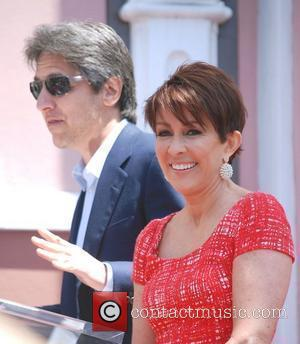 Ray Romano with Patricia Heaton  is honored with a Hollywood Walk of Fame Star on Hollywood Blvd - Outside...