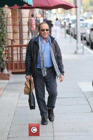 Paul Anka  out and about in Beverly Hills. Los Angeles, California - 31.01.12