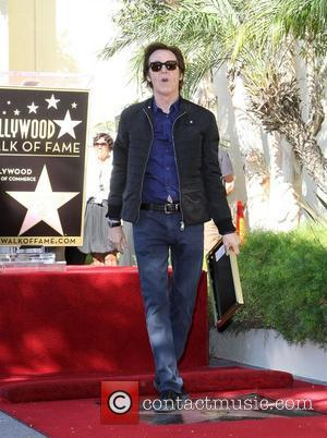 Sir Paul McCartney and Star On The Hollywood Walk Of Fame