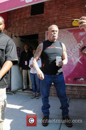 American Chopper star Paul Teutul leaving the Wendy Williams show in Manhattan. New York City, USA - 16.04.12