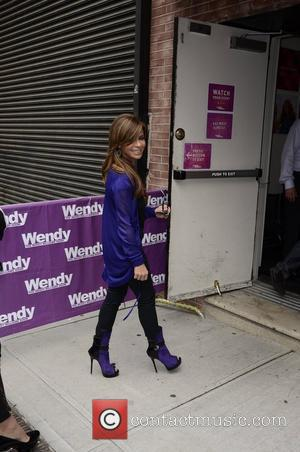 Paula Abdul  arrives to the Wendy Williams show in Manhattan  New York City, USA 16.05.12