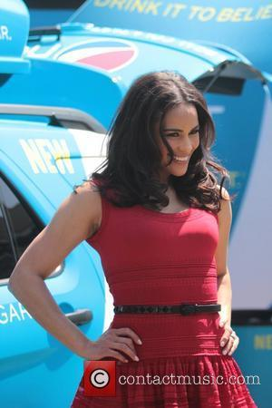 Paula Patton promotes new Pepsi NEXT at The Grove Los Angeles, California - 09.04.12