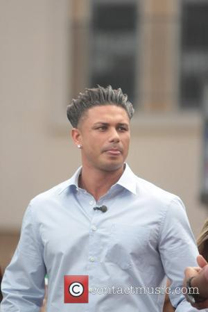 Paul 'Pauly D' Delvecchio  Celebrities at The Grove to appear on the entertainment news show, 'Extra' Los Angeles, California...