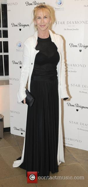 Trudie Styler Place For Peace dinner  to support the Peace Earth Foundation in association with Star Diamond at Banqueting...