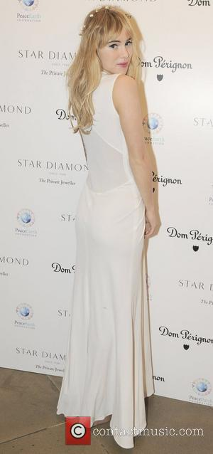 Suki Waterhouse  Place For Peace dinner  to support the Peace Earth Foundation in association with Star Diamond at...