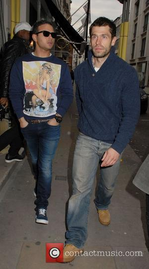 Ryan Thomas and Kelvin Fletcher ,  at Pearlys Launch Party at Sanctum Soho Hotel. London, England - 16.05.12