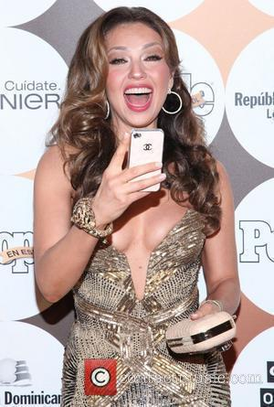 Thalia  People En Espanol 50 Most Beautiful Gala at The Plaza Hotel  New York City, USA - 15.05.12