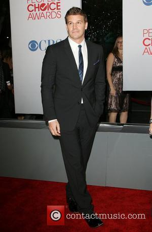 David Boreanaz 2012 People's Choice Awards held at Nokia Theatre L.A. Live - Arrivals Los Angeles, California - 11.01.12