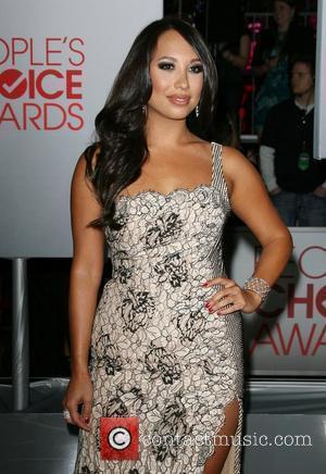 Cheryl Burke and People's Choice Awards