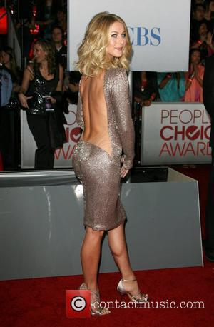 Julianne Hough and People's Choice Awards