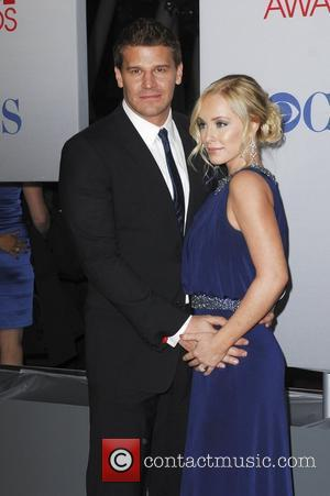 David Boreanaz, Jaime Bergman and People's Choice Awards