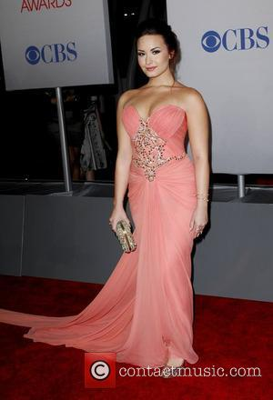 Demi Lovato  2012 People's Choice Awards - Arrivals held at the Nokia Theatre L.A. Live Los Angeles, California -...