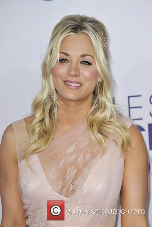 Kaley Cuoco and People's Choice Awards