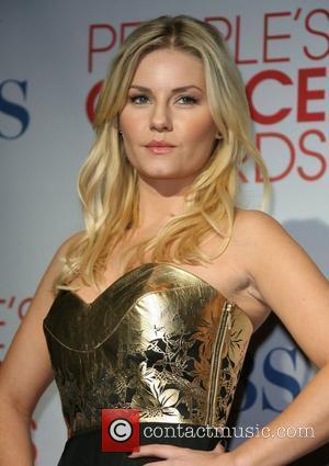 Elisha Cuthbert 2012 People's Choice Awards held at the Nokia Theatre L.A. Live - Press Room  Los Angeles, California...