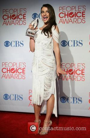 Lea Michele and People's Choice Awards