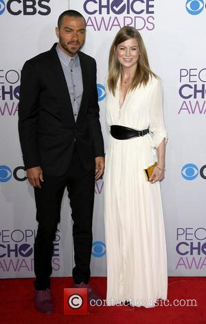 Ellen Pompeo; Jesse Williams 39th Annual People's Choice Awards at Nokia Theatre L.A. Live - Arrivals  Featuring: Ellen Pompeo,...