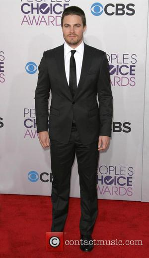 Stephen Amell 39th Annual People's Choice Awards at Nokia Theatre L.A. Live - Arrivals  Featuring: Stephen Amell Where: Los...