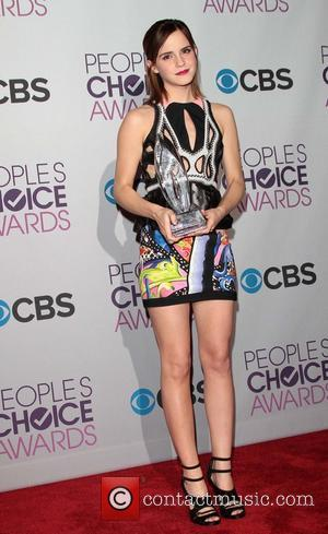 Emma Watson and Annual People's Choice Awards
