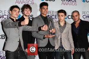 Nathan Sykes, Siva Kaneswaran, Max George, Tom Parker, Jay Mcguiness, The Wanted and Annual People's Choice Awards