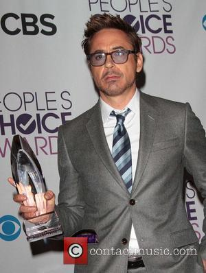 Robert Downey Jr and Annual People's Choice Awards