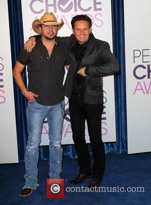 Jason Aldean, Mark Burnett and People's Choice Awards