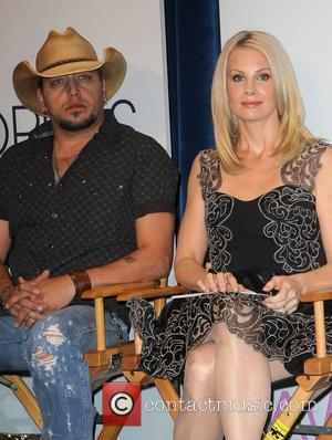 Jason Aldean, Monica Potter The 2013 People's Choice Awards nomination announcement, held at The Paley Center for Media Beverly Hills,...