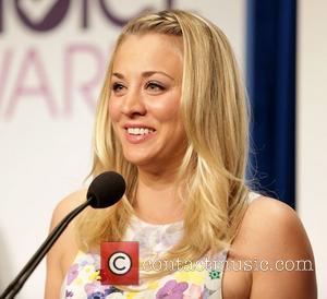 Kaley Cuoco and People's Choice Awards