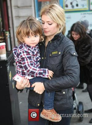 Holly Willoughby with her son Harry Celebrity Gala Opening of Peppa Pig's Treasure Hunt at the Criterion Theatre - Outside...