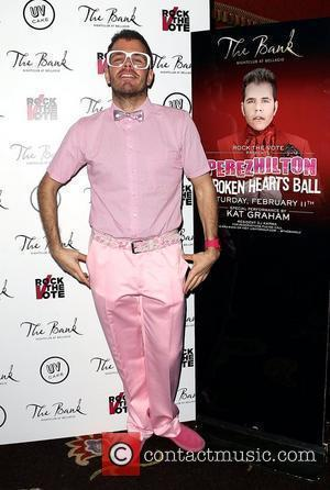 Perez Hilton and The Bank Nightclub