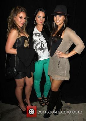 Haylie Duff, Jojo, Francia Raisa Perez Hilton's Mad Hatter Tea Party Birthday Celebration held at Siren Studios Hollywood, California -...