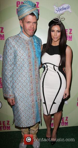 Perez Hilton, Kim Kardashian Perez Hilton's Mad Hatter Tea Party Birthday Celebration held at Siren Studios Hollywood, California - 24.03.12