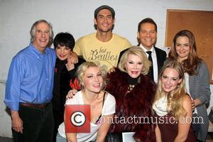 Henry Winkler, Liza Minnelli, Ari Graynor, Cheyenne Jackson, Joan Rivers, Michael Feinstein, Jenni Barber and Alicia Silverstone Backstage at the...