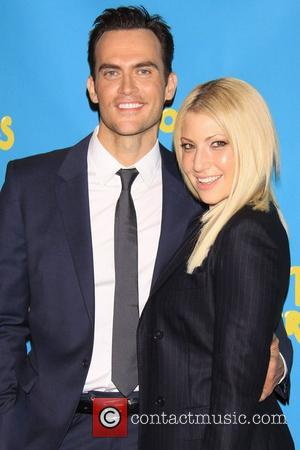 Cheyenne Jackson and Ari Graynor Meet and greet with the cast of the Broadway comedy 'The Performers' held at the...