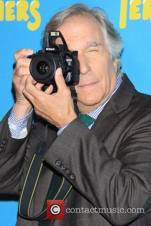Henry Winkler  Meet and greet with the cast of the Broadway comedy 'The Performers' held at the Hard Rock...