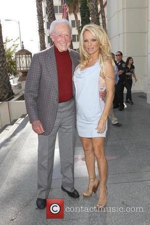 Bob Barker and Pamela Anderson