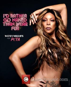"""I'd Rather Go Naked..."" Wendy Williams Does Just That, For Anti-Fur Campaign"
