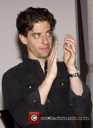 Christian Borle from the TV show 'Smash'  Meet and greet with the cast and creative team of the Broadway...